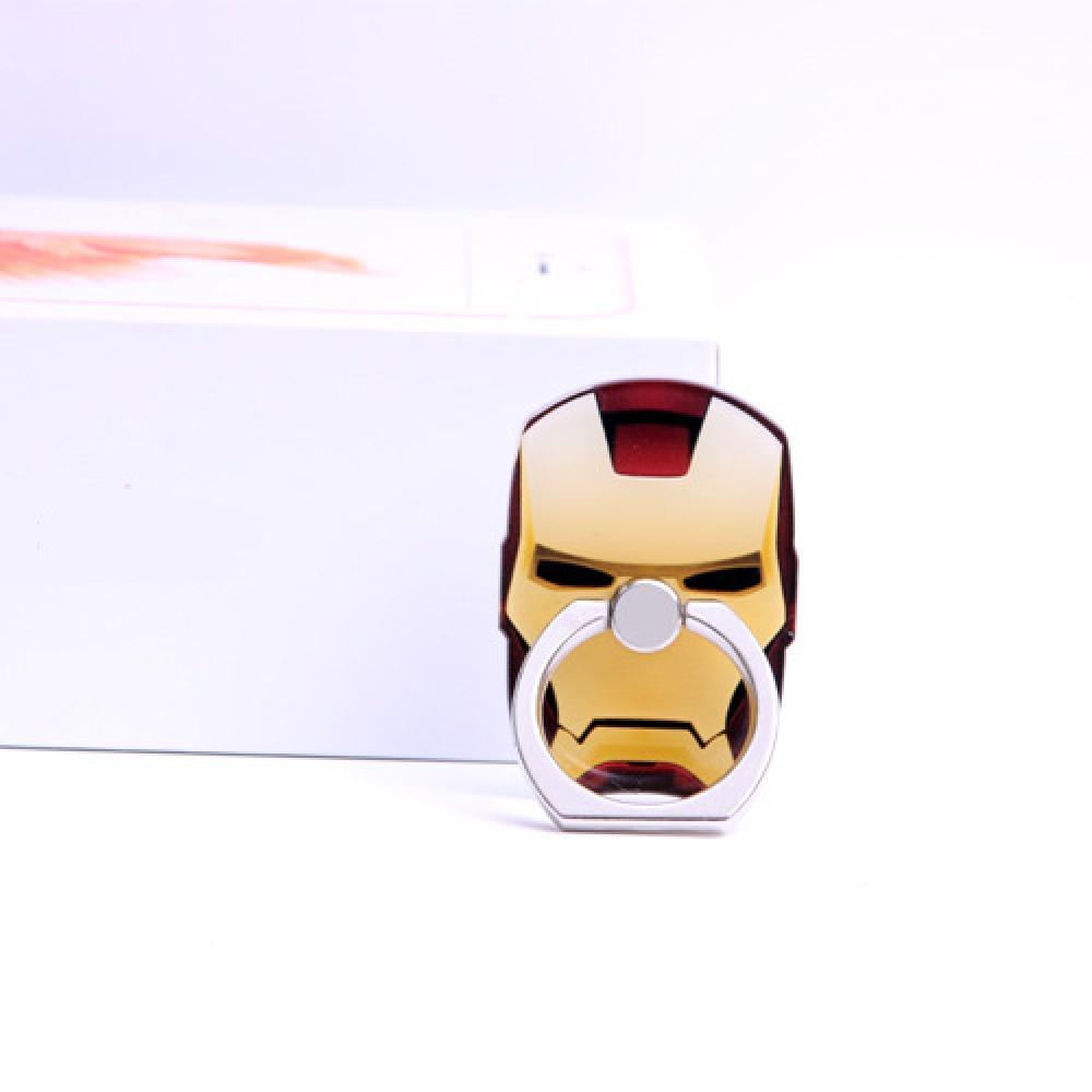 Superhero Iron Man Smartphone Ring Holders